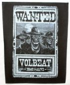 Volbeat - 'Wanted' Giant Backpatch